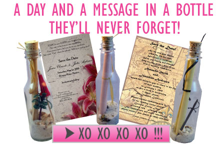 Message In A Bottle Invitations Invitation in a Bottle is simply – Message in a Bottle Party Invitations