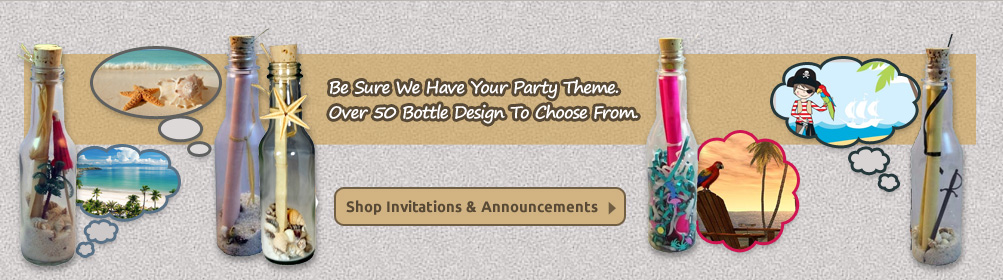 Bottle Invitations